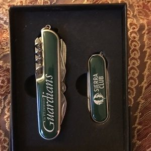 sierra club Other - Small and-large pocket knife. Bottle top opener